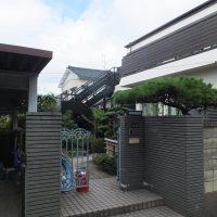久田邸正面